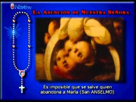 Rezo del Santo Rosario Misterios Gloriosos