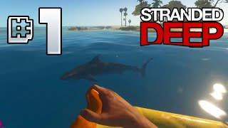 Stranded Deep Ep 1 - Fire On A Plane