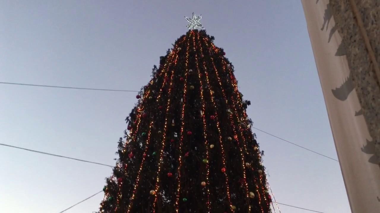 Faneuil Hall Christmas Tree Light Show (4K)