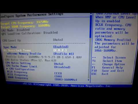 Kingston DDR3 RAM Memory Installation Guide Frequency Timings Voltage Settings Linus Tech Tips