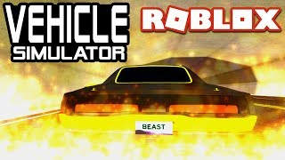 EPIC MUSCLE CAR in Vehicle Simulator!   Roblox