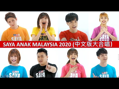 Saya Anak Malaysia 2018 (All-star Mandarin Version) Official MV