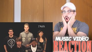 Evolution of Music - Pentatonix | Music Video Reaction