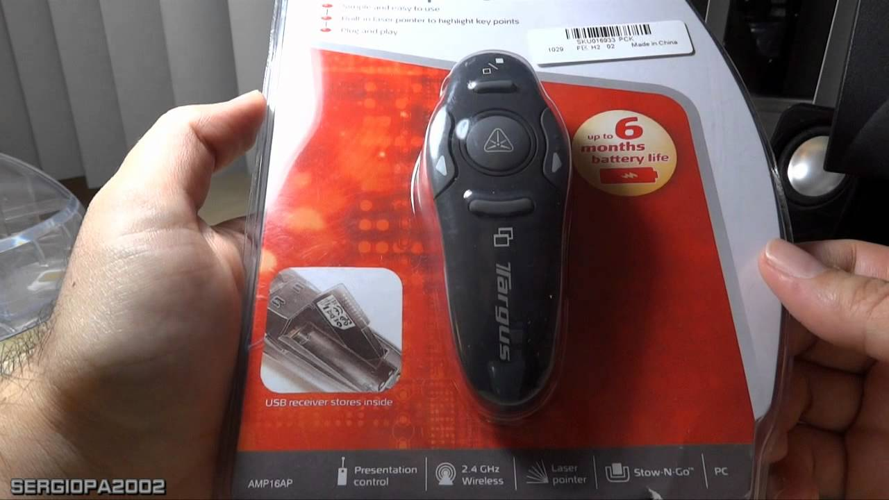 Review Of The Targus Wireless Presenter With Laser Pointer Found On Logitech R400 Ebay For Just 15 Youtube