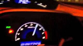 Turbo honda civic FD test run 3 80-200kph.m4v