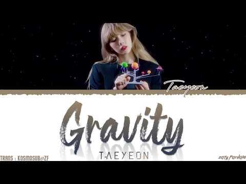 TAEYEON (태연) - 'GRAVITY' Lyrics [Color Coded_Han_Rom_Eng]