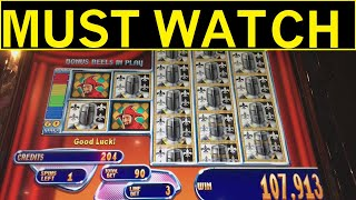$1.20 LEFT INTO $10,000!  MUST WATCH JACKPOT OF THE YEAR!