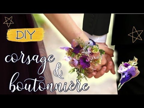 EASY DIY Corsage & Boutonnière  ~ prom, wedding, graduation 2019 // Laura Does It Herself ep. I
