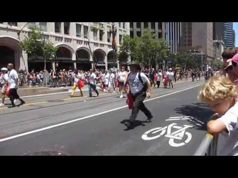 San Francisco Pride Parade 2013 Macy's Pride & Joy