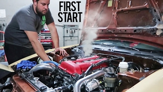 Built SR20DET Install & First Start