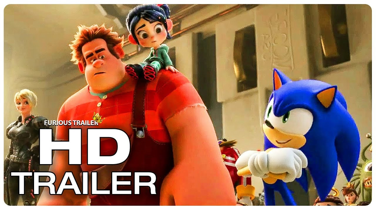 WRECK IT RALPH 2 Sonic Explains Wi-Fi To Ralph Trailer (NEW 2019) Animated New Movie Trailers HD
