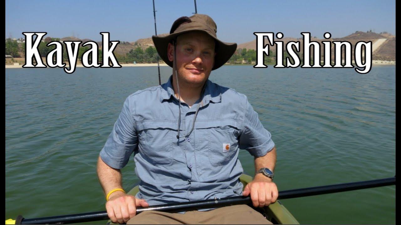 Kayak fishing on castaic lake youtube for Castaic fishing report