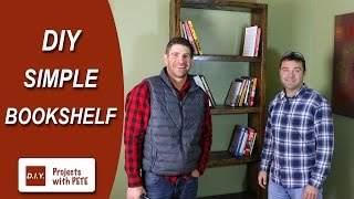 How to Make a Bookshelf - Simple DIY Bookshelf
