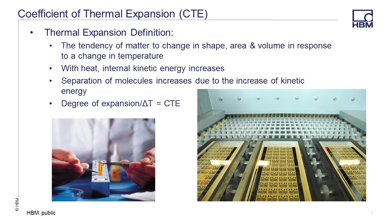How To Identify The Coefficient Of Thermal Expansion When Selecting Strain  Gauges