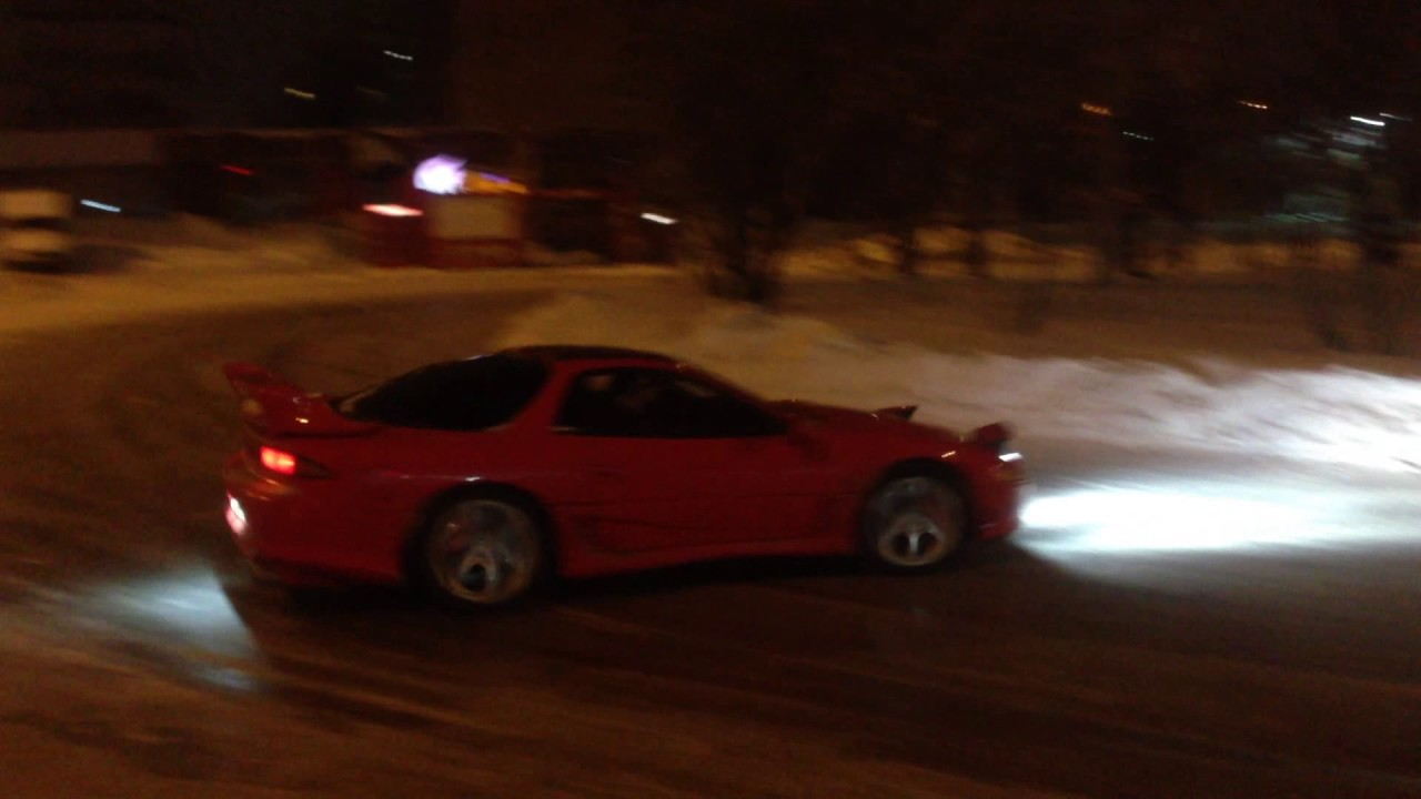 Mitsubishi 3000gt Vr4 Gto Stealth Easy Siberian Snow Drift Youtube