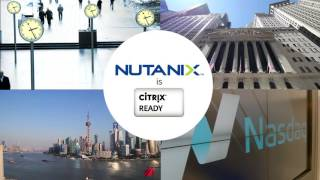 Citrix Runs on Nutanix Enterprise Cloud