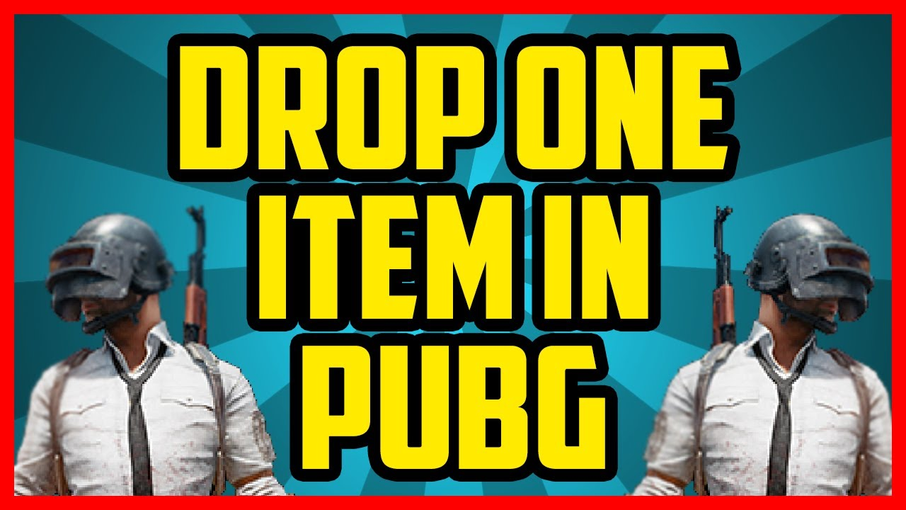 How To Drop One Item In Pubg How To Split Items In Player Unknown Battlegrounds Certain Amounts