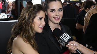 Laura & Vanessa Marano Talk 'Gilmore Girls' Reboot & Play 'Hashtag' Game   Hollywire