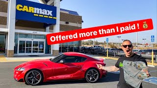 TOOK MY 2020 TOYOTA SUPRA TO CARMAX FOR APPRAISAL! *SHOCKING OFFER*