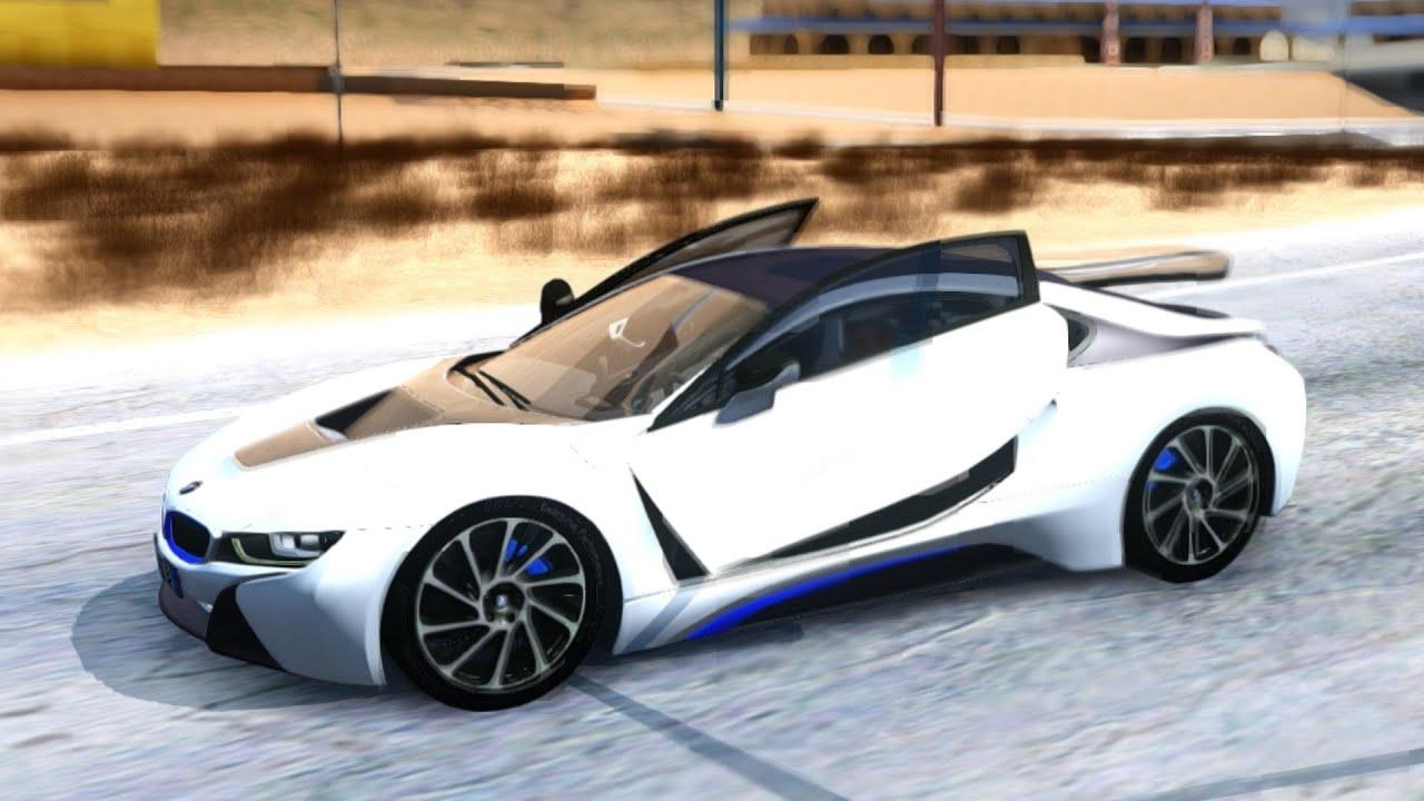 BMW I New Cars Vehicles To GTA San Andreas ENB - 2013 bmw i8