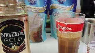 ชงเนสกาแฟ โกลครีมม่า