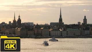 4K SWEDEN, STOCKHOLM TRAVEL GUIDE VIDEO, Best Places To Go, Top Attractions, Best Things To Do