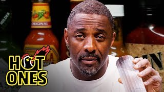 Download Idris Elba Wants to Fight While Eating Spicy Wings | Hot Ones Mp3 and Videos