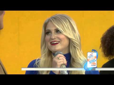 Meghan Trainor - Better When Im Dancin(Live on The Today Show)