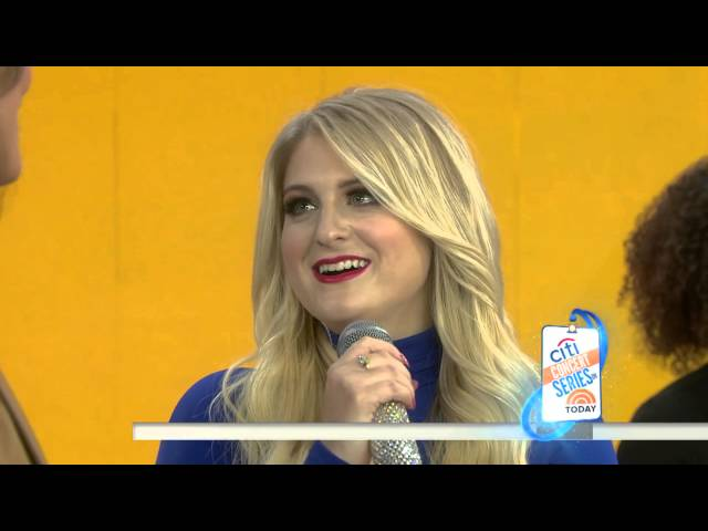 Meghan Trainor - Better When Im Dancin  (Live on The Today Show)