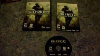Call of Duty 4: Modern Warfare - Mac - DVD