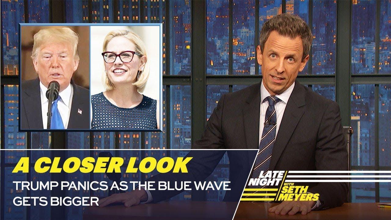 Trump Panics as the Blue Wave Gets Bigger: A Closer Look