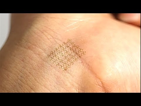 "Electronic Bandages or ""Bio-patches"" are new biomedical technology"