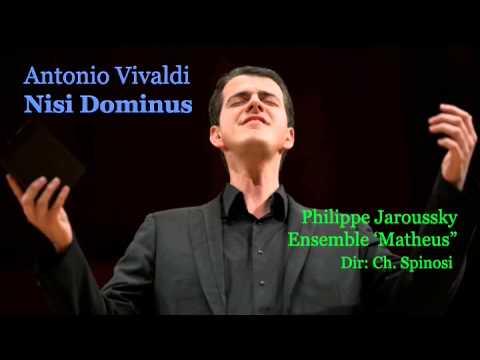 VIVALDI - NISI DOMINUS. Jaroussky counter tenor