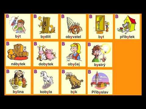 Český jazyk - Vyjmenovaná slova po B