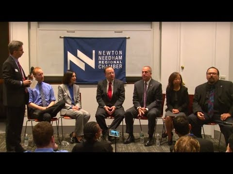 Newton Mayoral Candidates Business Forum 2017