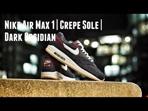 The Blessing & the Curse: Nike Air Max 1 Premium Crepe Sole