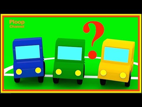 Thumbnail: Cartoon Cars - WHERE IS RED CAR? - Cartoons for Children - Children's Animation Videos for kids
