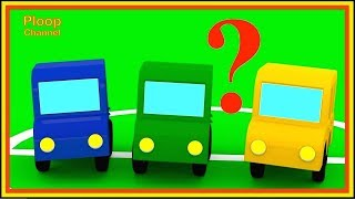 Cartoon Cars - WHERE IS RED CAR? - Cartoons for Children - Children