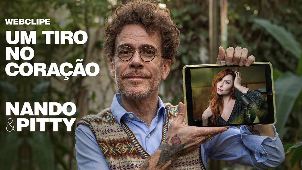 Nando Reis lança single com a participação de Pitty nesta sexta-feira (11/6)