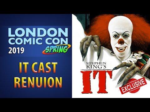 Stephen King's IT Original Cast Reunion London Comic con 2019