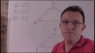 Признаки равенства треугольников 2, 3 и доказательства