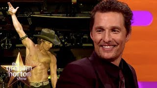 Matthew McConaughey Is Good At Small Talk In A Thong | The Graham Norton Show