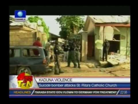 NEMA confirms 8 dead, 100 injured in suicide bomb attack on St.Ritas Church