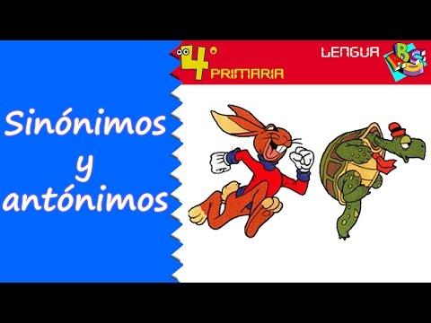 lengua-castellana.-4º-primaria.-tema-2.-sinónimos-y-antónimos