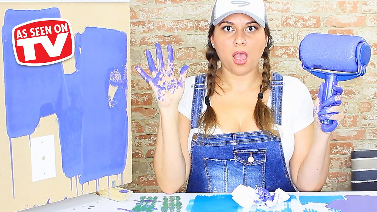 Paint Runner Pro Review Testing As Seen On Tv Products Youtube