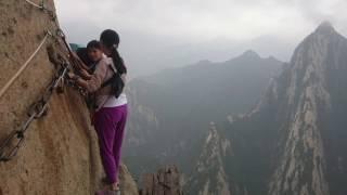 Mount Huashan - Tackling the world's 'most dangerous' trek
