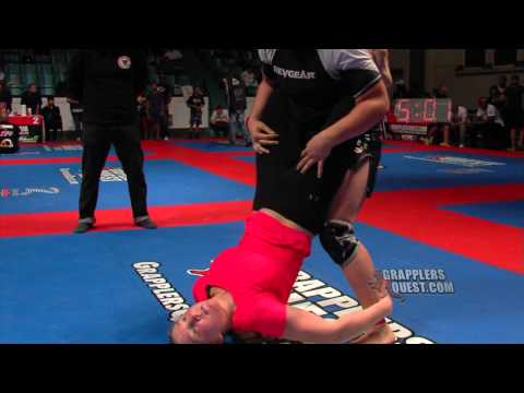 Female SUBMISSION Grappling - Jessica Richer vs Amanda Leve at Grapplers Quest Girl of 2012: SUBSCRIBE FREE to Get the Newest Grappling and Jiu Jitsu Competition Videos, go to: http://www.youtube.com/subscription_center?add_user=GrapplersQuest  TOURNAMENTS - For upcoming grappling events worldwide, visit: http://GrapplersQuest.com  FACEBOOK - Like Us at: http://GrapplingFans.com   TWITTER - Follow us at: http://Twitter.com/GrapplersQuest  GOOGLE+ - Hang out with us at: http://google.com/+GrapplersquestHangout  INSTAGRAM at: http://Instagram.com/GrapplersQuest  SUBMISSION! No-Gi Women's Advanced Absolute division featuring Jessica Richer (Gracie Barra) vs Amanda Leve (Paper Street). GRAPPLERS QUEST, The World's Largest and Most Prestigous Submission Grappling Tournament hosts Grapplers Quest World Championships in Asbury Park NJ on Saturday December 8th, 2012. Grapplers Quest wants the sport of Submission Grappling to grow worldwide and with sharing this footage for free, we hope it will bring more people into the sport for many years to come. We will bring you the BEST matches from all our events on our website at: http://www.GrapplersQuest.com Please subscribe to our FREE channel at: http://WatchGrappling.com or PPV channel at: http://LiveGrappling.com