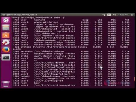 How to Install SMEM Memory Usage Tool in Ubuntu