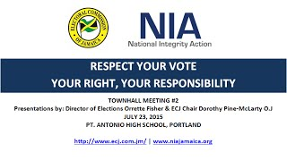 NIA-ECJ 'Respect Your Vote' Town Hall Meeting in Portland (Pt. 1)