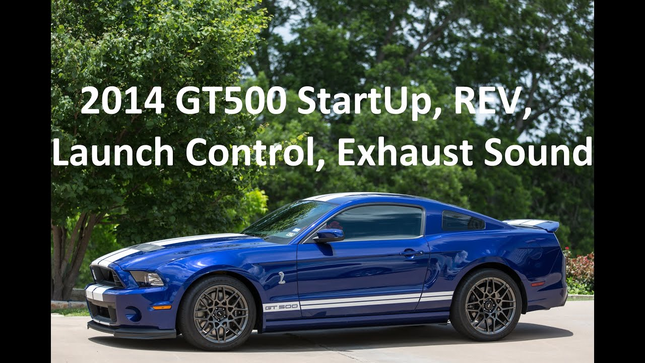 2014 shelby gt500 start up launch control 360 view